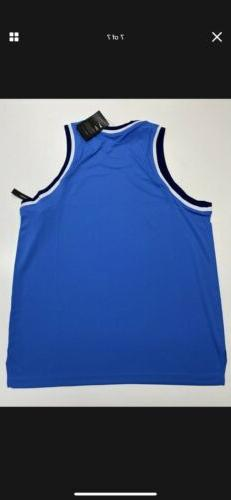 Nike Fit Basketball Jersey Blue Men's Size Small