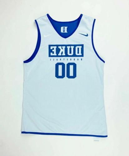 Nike Duke Blue Basketball Reversible Medium #00