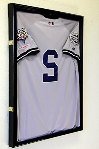 Basketball Jersey Display Cabinet, Finished