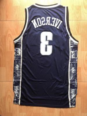 Georgetown #3 76ers Jersey