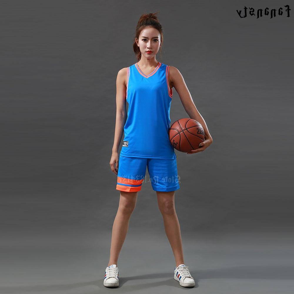 High quality <font><b>basketball</b></font> sets Women custom <font><b>basketball</b></font> uniforms girls youth college <font><b>basketball</b></font> kits suits new
