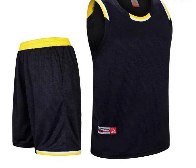 High Quality Jersey Set For Men Basketball Sports Use Comfy