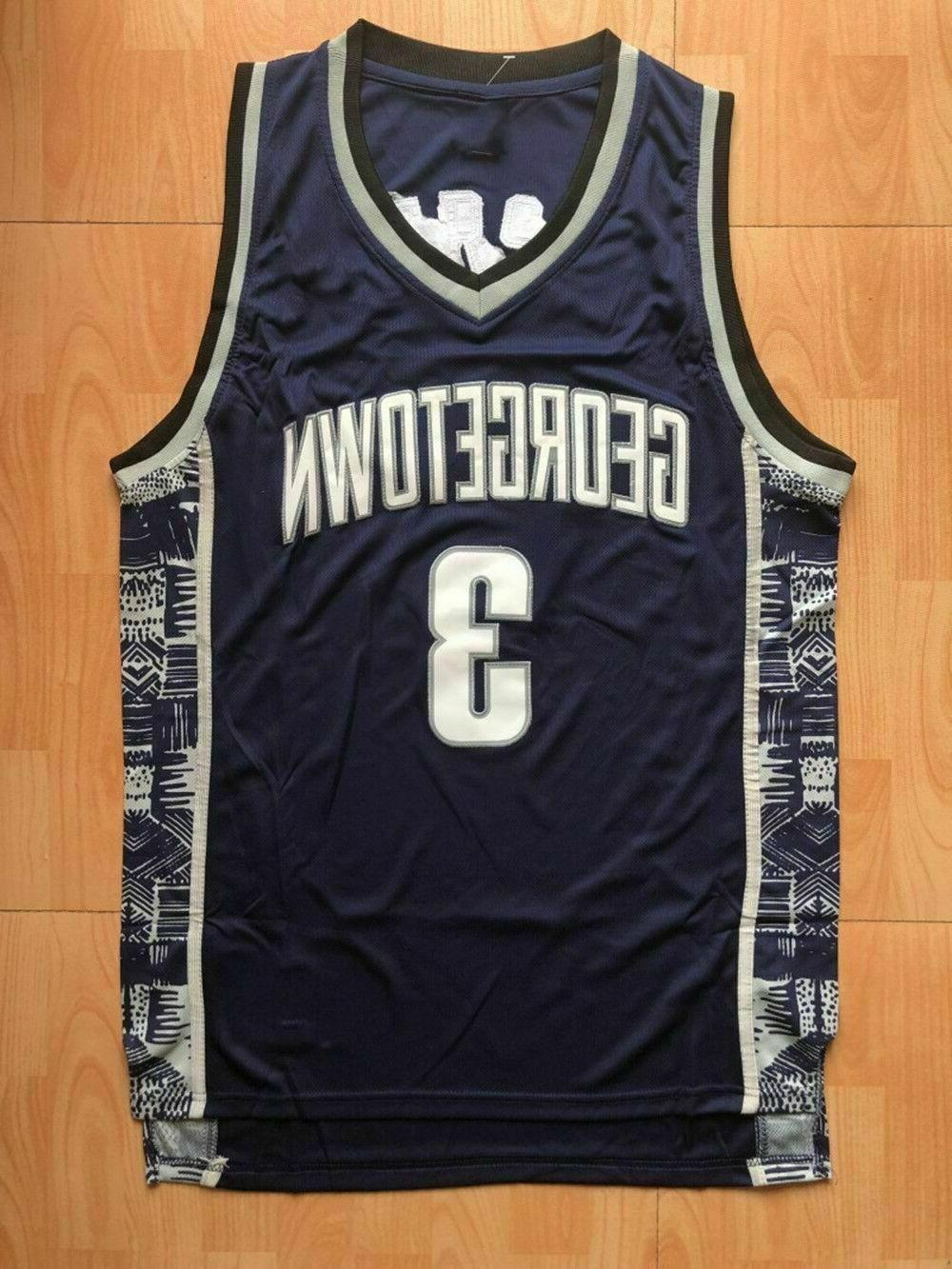 Hoyas Iverson University of Georgetown Basketball