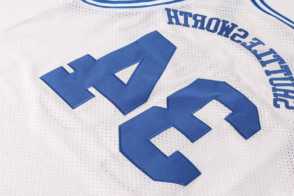 Jesus Shuttlesworth #34 He Game Jersey Ray 2 Colors