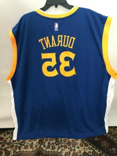 Kevin Durant Golden State Adidas NWT