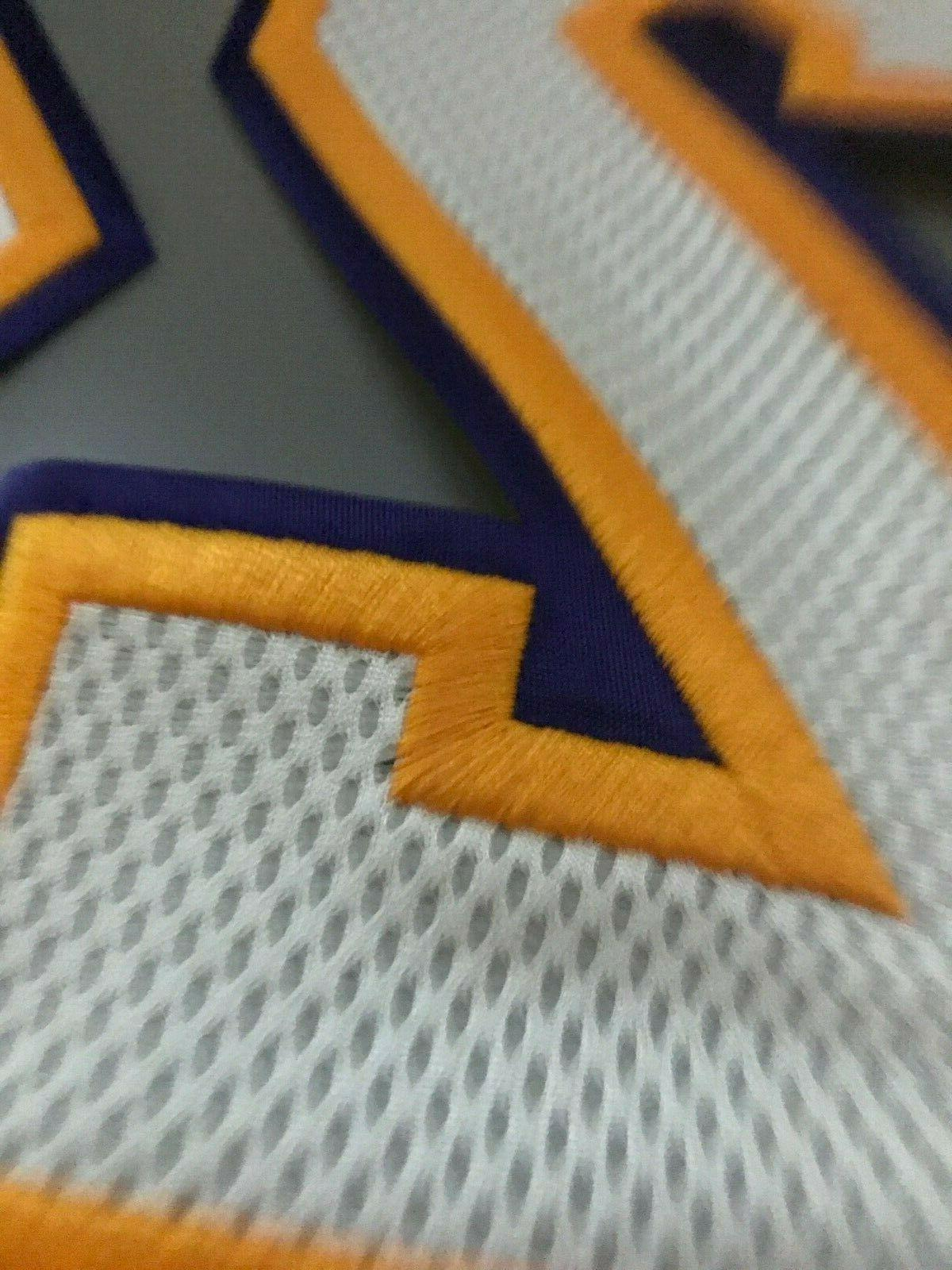 KOBE BRYANT #24 Mesh Adidas Official Jersey Pro Numbers Rev30