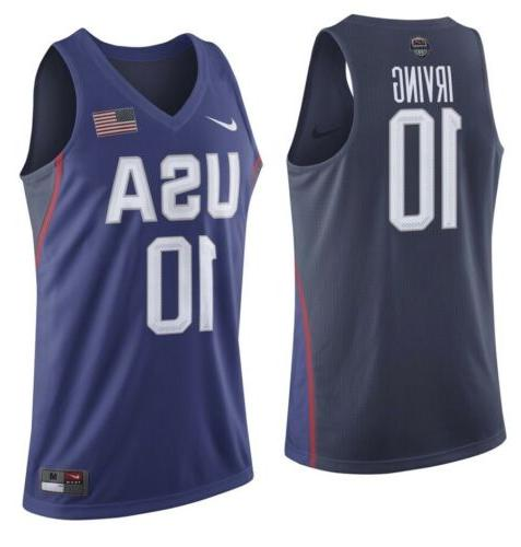 NIKE KYRIE IRVING TEAM USA ELITE REPLICA BASKETBALL JERSEY M