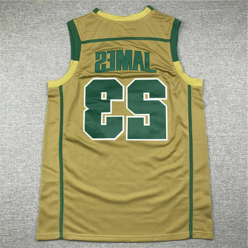 LeBron James St Mary Basketball Men's Stitched