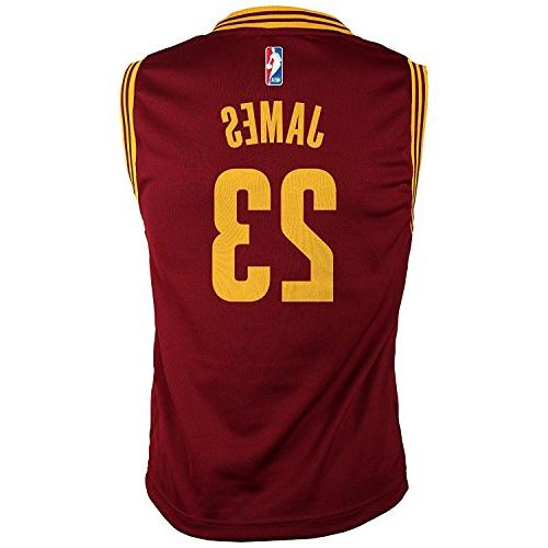 Outerstuff James Cleveland Cavaliers Jersey Maroon