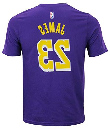 Outerstuff Lebron Angeles Lakers #23 Player Name Number T-Shirt