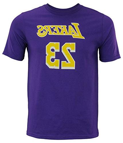 Outerstuff Los Angeles Lakers #23 Youth Player Name & T-Shirt