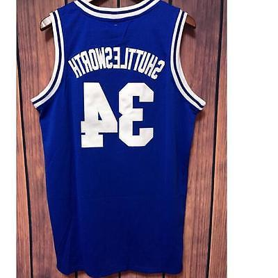 Jesus Shuttlesworth Lincoln Basketball Jersey Ray Allen #34
