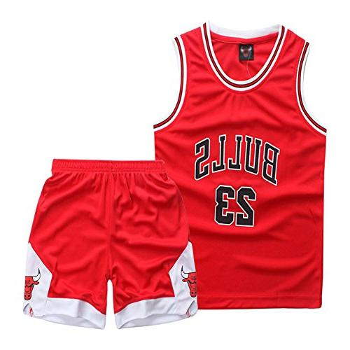 little boys 2 piece basketball performance tank