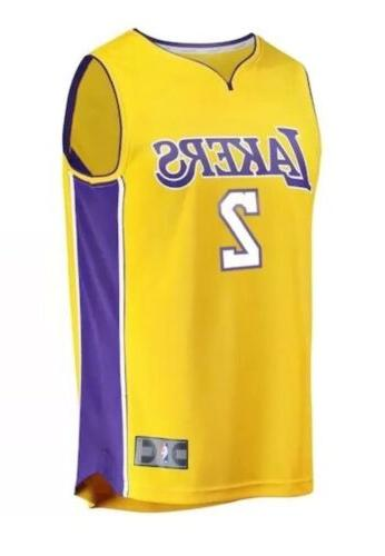Lonzo Ball Lakers NBA Basketball Size Fanatics Jersey NWT