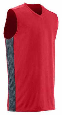 men s v neck sleeveless fast break