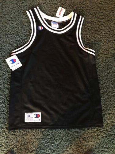 men s vintage blank black basketball jersey