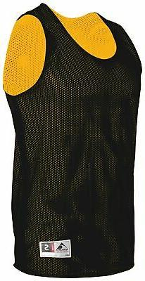 Augusta Sportswear Mens 100% Polyester Tricot Mesh Reversibl