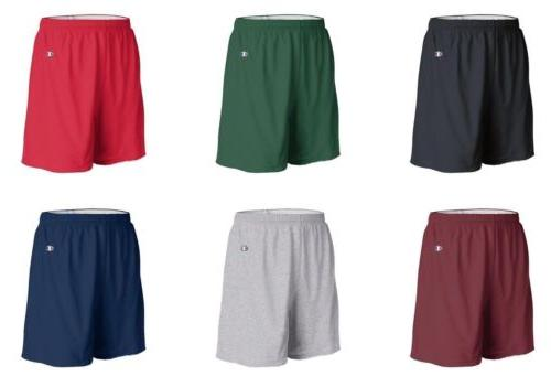 mens athletic gym shorts cotton jersey 8187