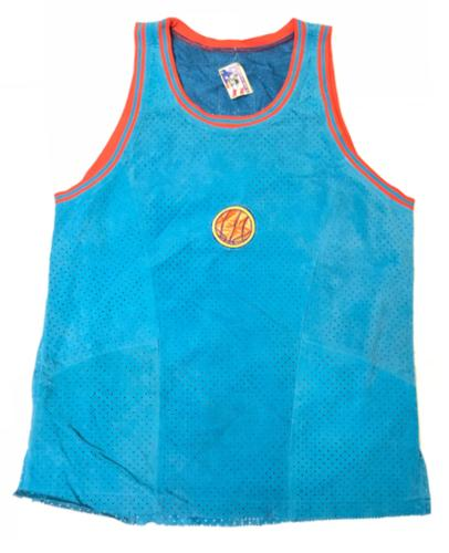 mens basketball sleeveless 100 percent leather athletic