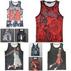 Michael Jordan James Iverson Print Jersey Swingman Shoot Ves