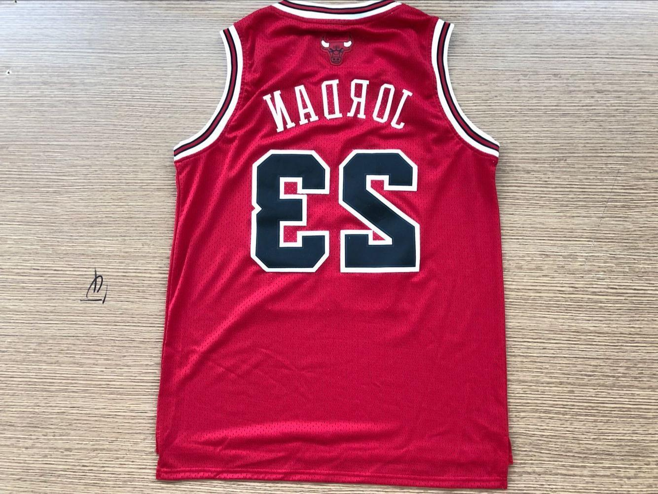 Michael Throwback Swingman Basketball Chicago Bulls Jersey