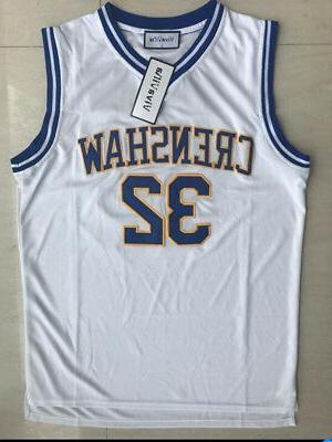 Monica Wright #32 Basketball Movie Jersey Crenshaw Love and
