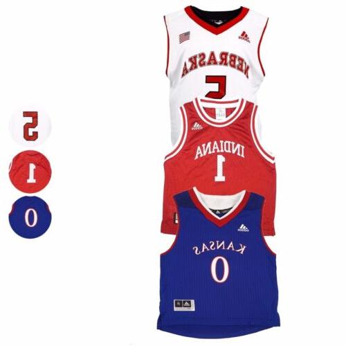 ncaa basketball official home and away jersey