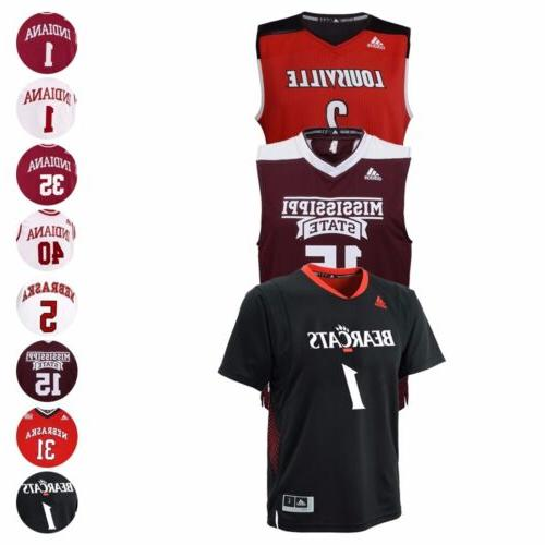 ncaa official replica basketball jersey collection by