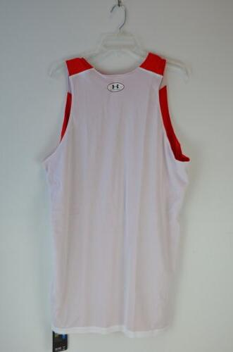 Under Reversible Jersey Red White Men NEW!