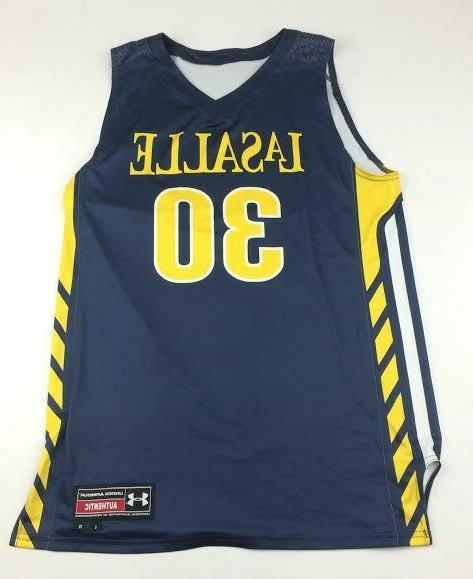 new lasalle armourfuse basketball jersey men s