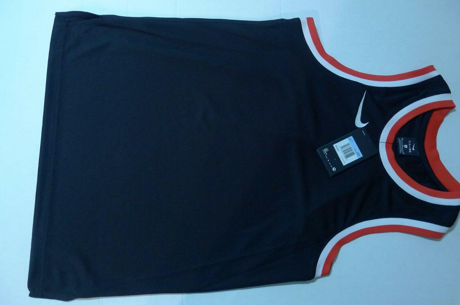 NEW BASKETBALL JERSEY DRI-FIT TANK MEDIUM