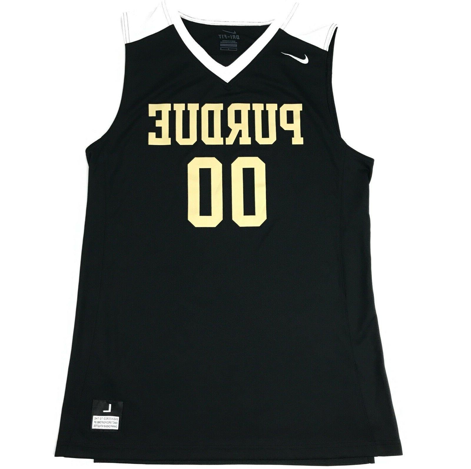 New Nike Purdue Boilermakers Basketball Jersey Men's Large B