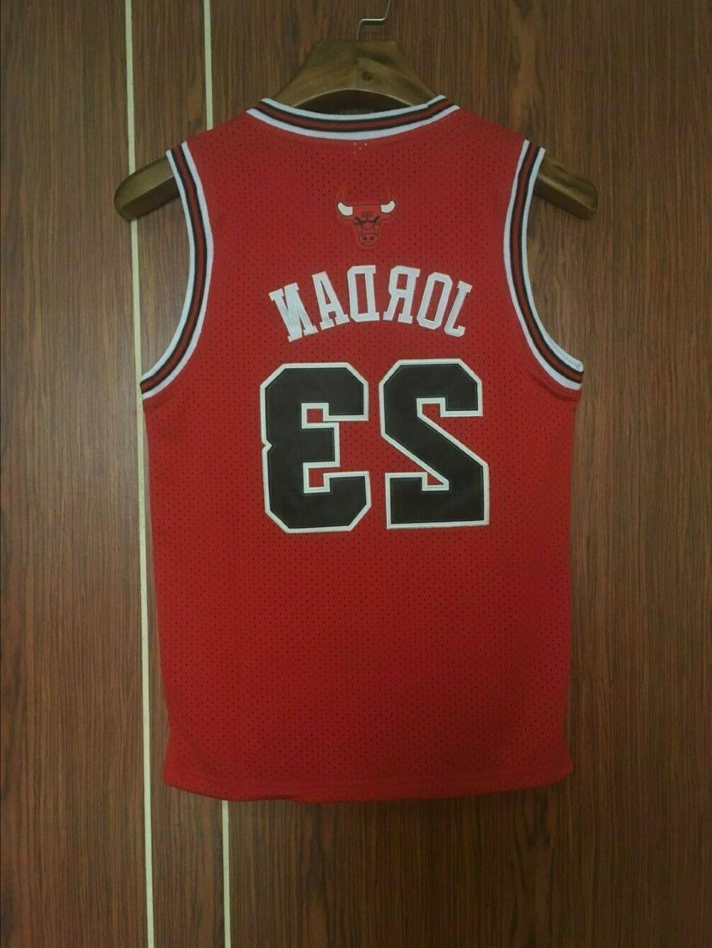 new throwback basketball jersey youth kids michael