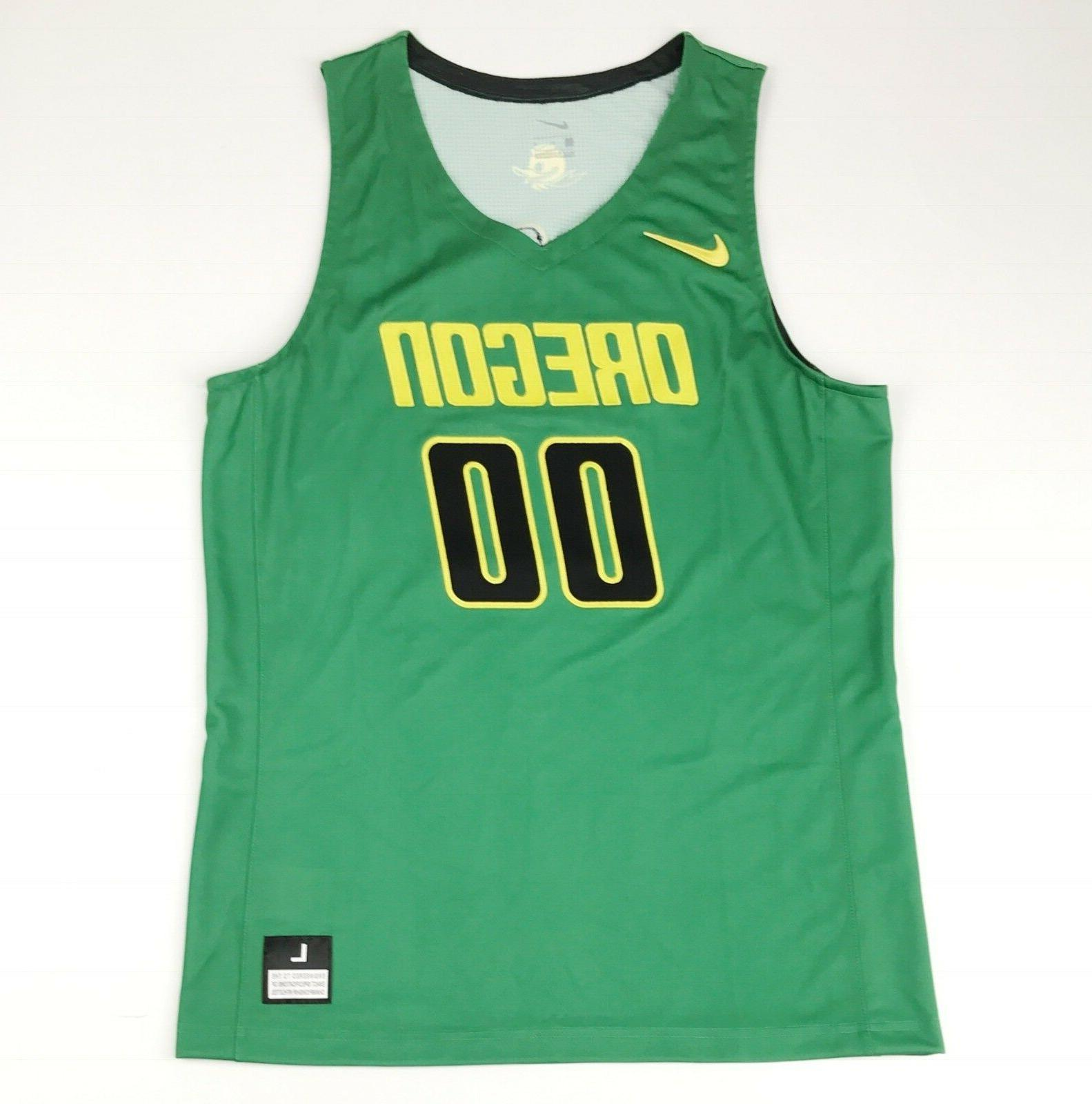 new unlimited oregon ducks basketball game jersey