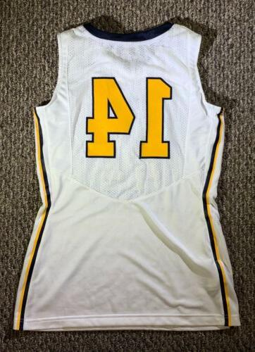 New West Basketball White Yellow