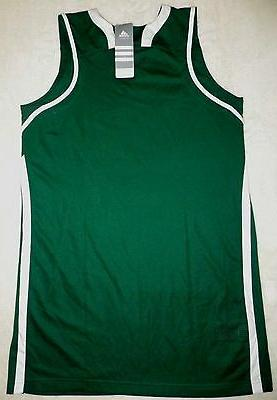 NEW Adidas Team Sports Basketball Jersey Green Sz M