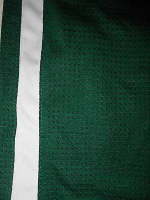 NEW Adidas Team Basketball Jersey Forest Green White Sz