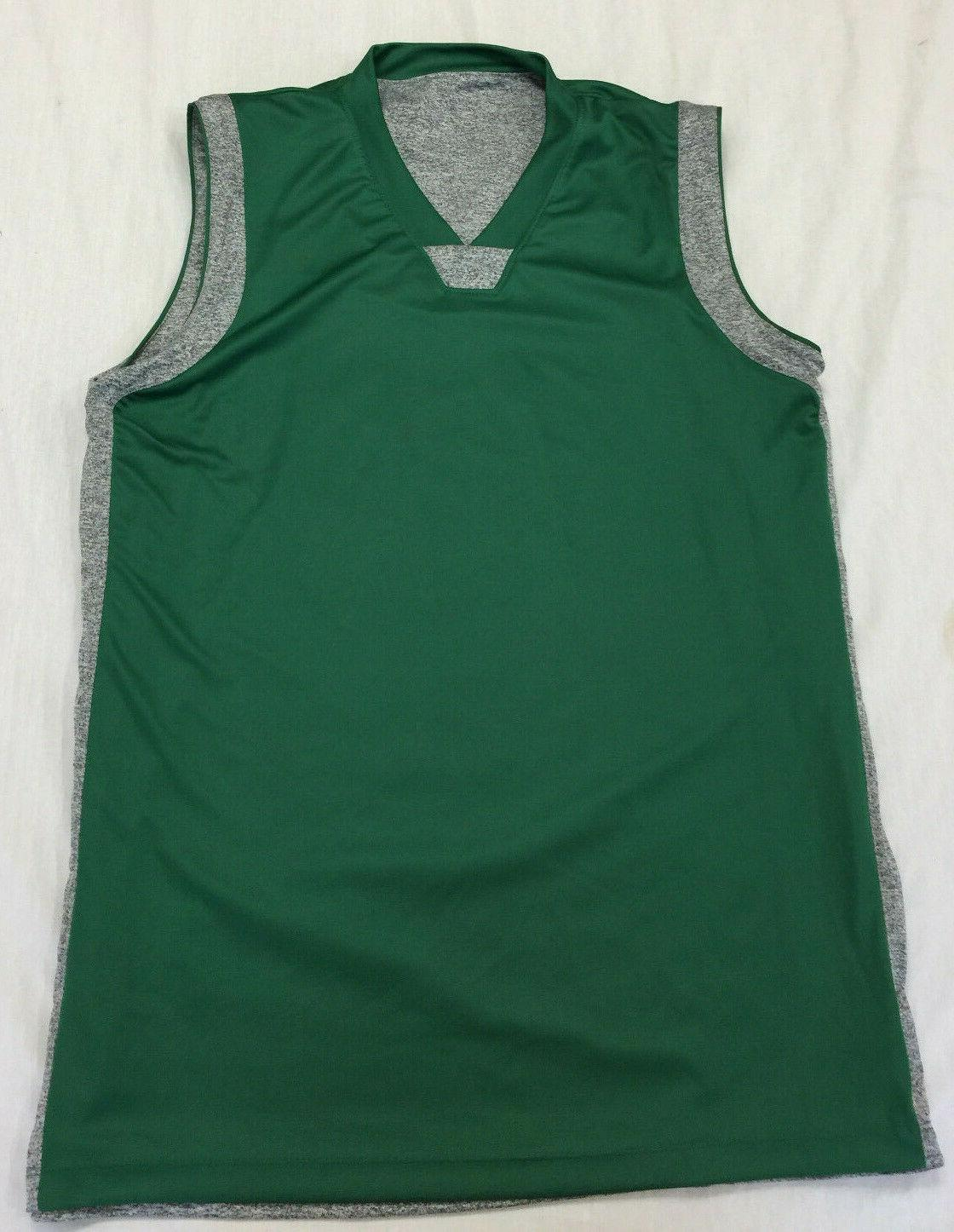 NWOT MENS SLEEVELESS REVERSIBLE BASKETBALL SHIRT SIZE