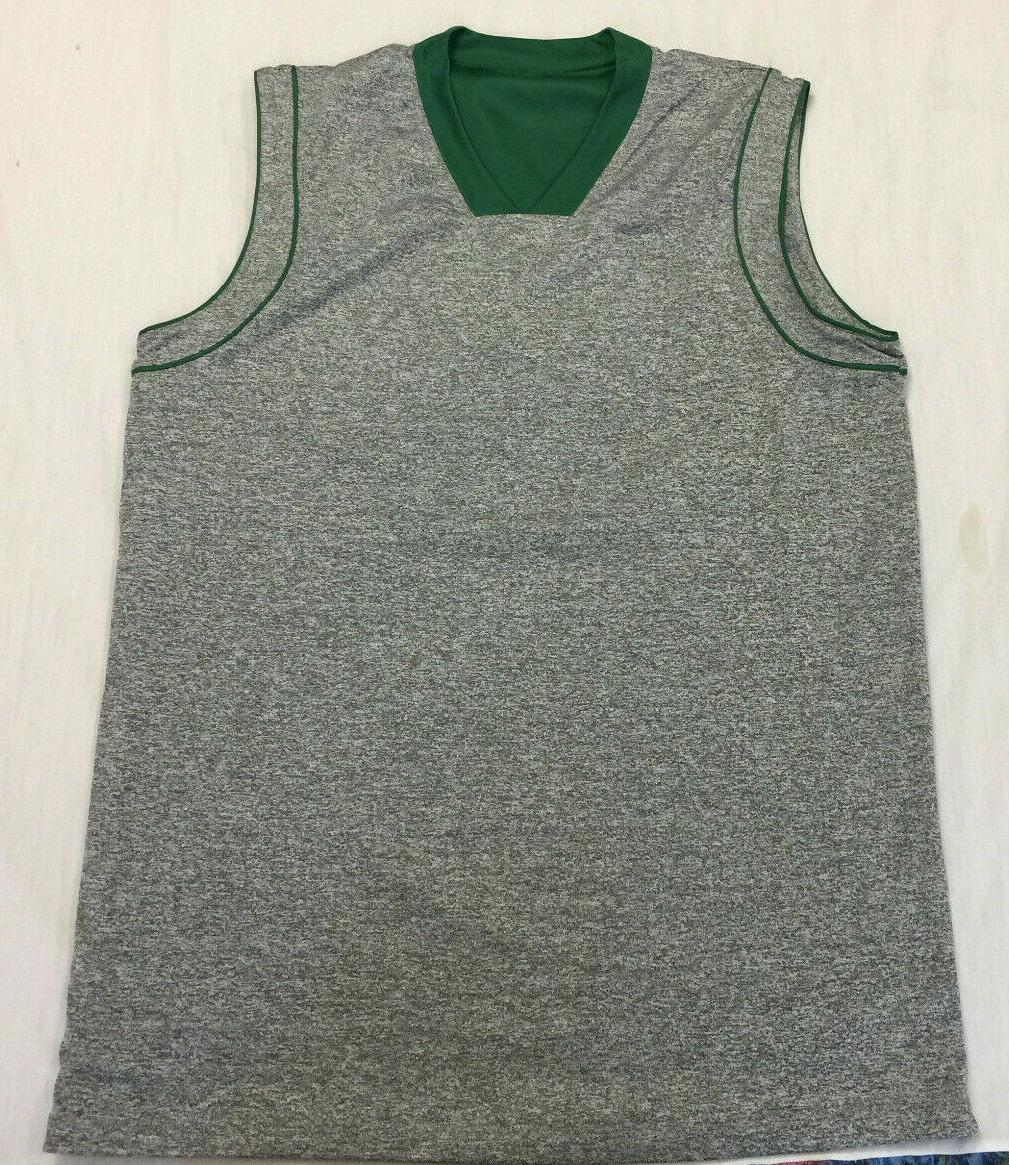 nwot mens athletic sleeveless reversible basketball jersey