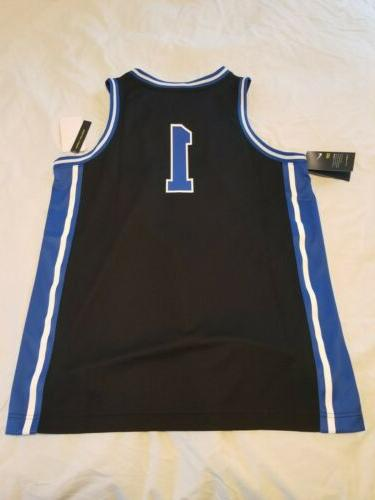 NWT Duke Nike black NCAA basketball size