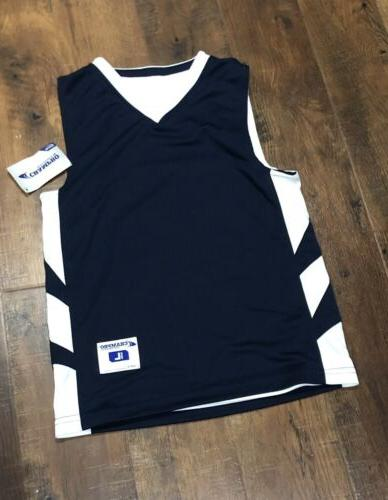 nwt reversible sports basketball jersey youth sz