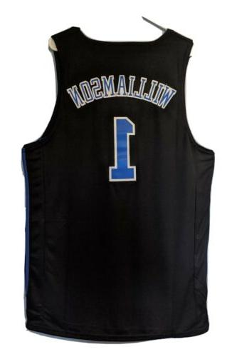 NWT Blue Black Swingman Jersey S-XL