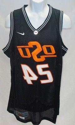 Oklahoma State Cowboys NCAA Basketball Jersey Black 24