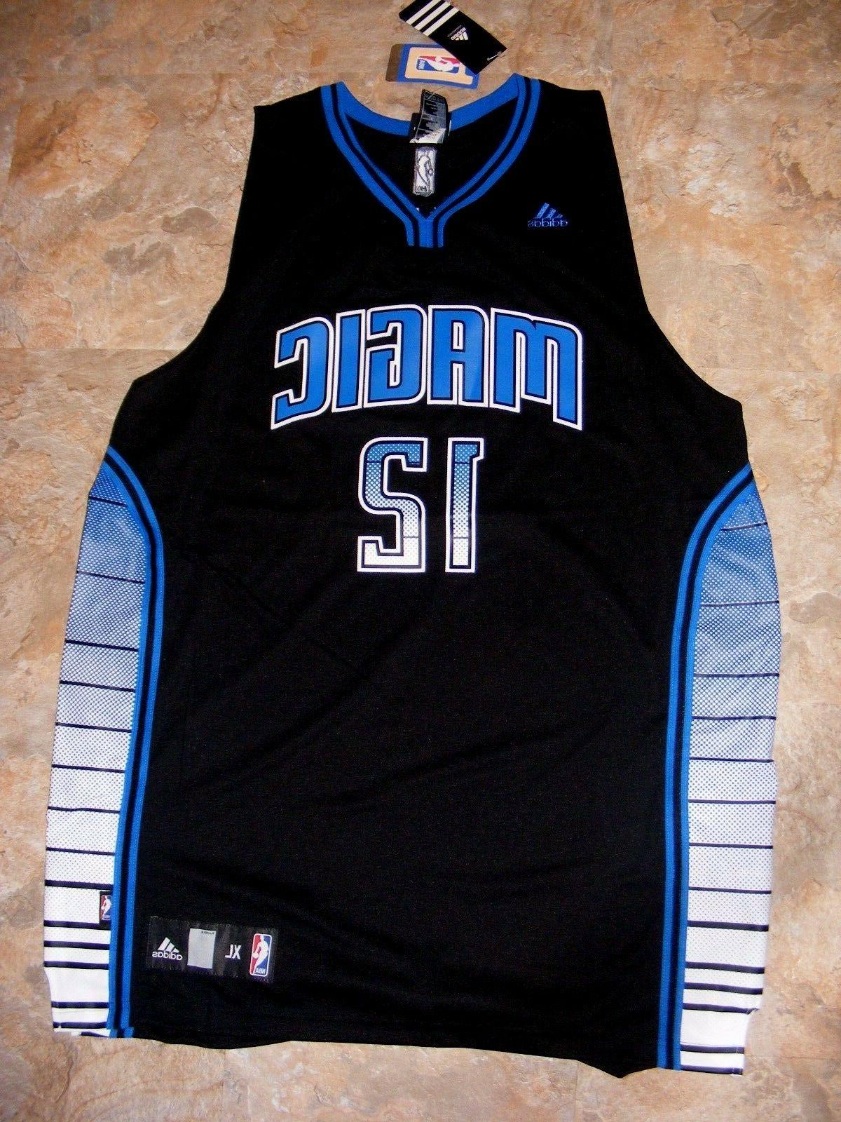 orlando magic black blue stitched