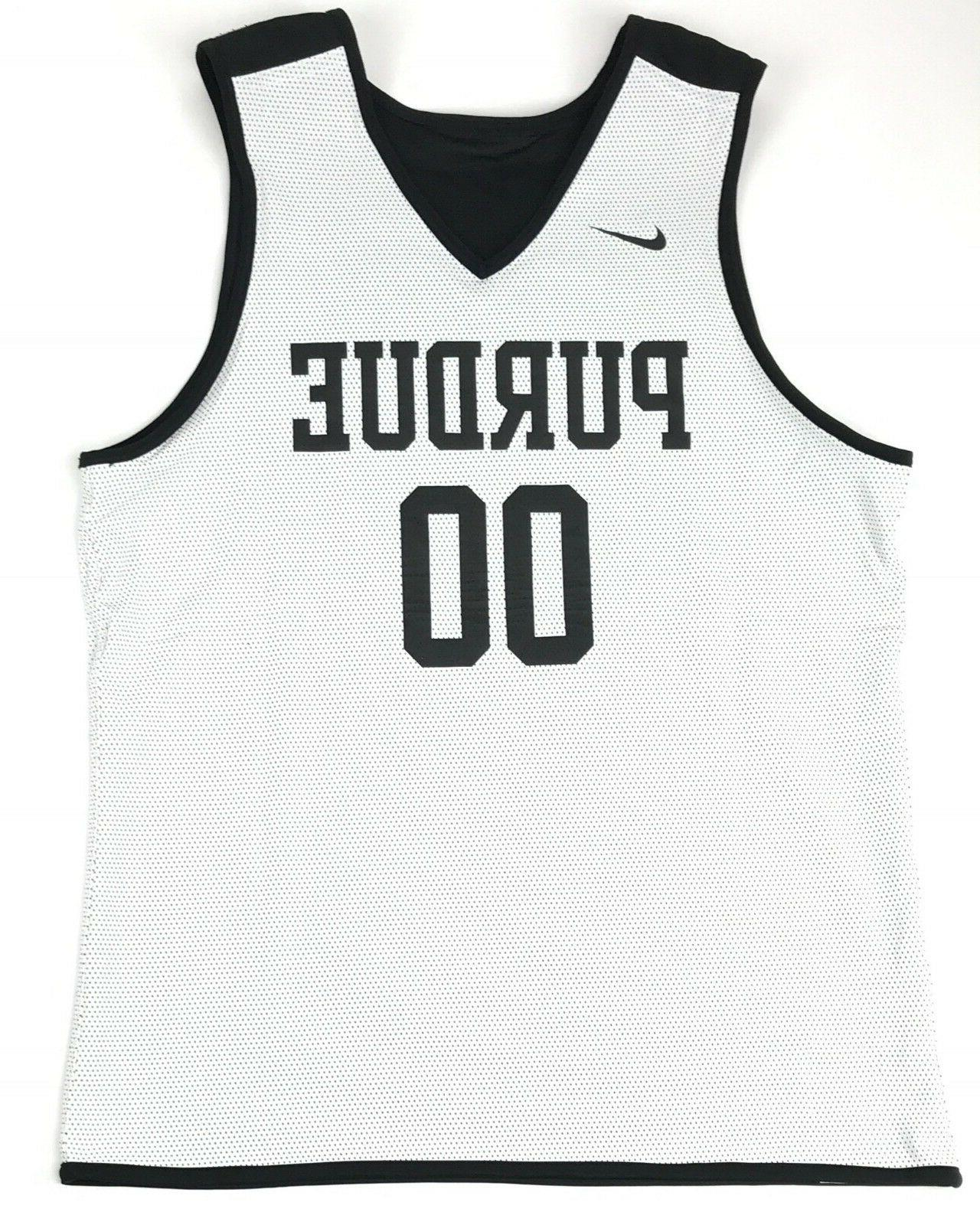 Nike Purdue Boilermakers Large Practice Jersey #00