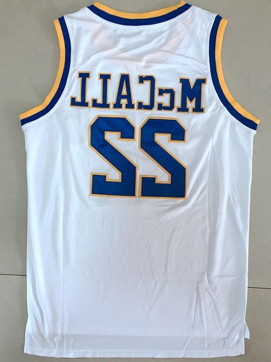 quincy mccall 22 crenshaw basketball jersey white