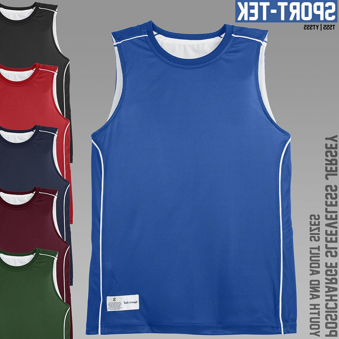 Reversible Basketball Jerseys *** Sport-Tek T555 / YT555 ***