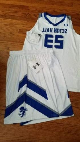 seton hall pirates basketball jersey 23