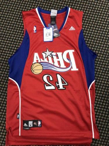 Sixers Basketball Jersey, Brand #42, mens size M, new with t
