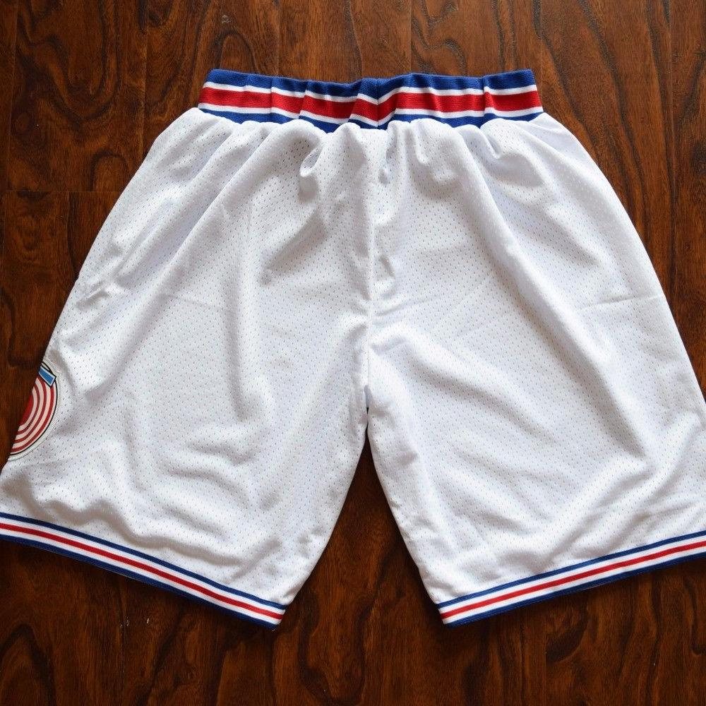 Space Tune Basketball Shorts White